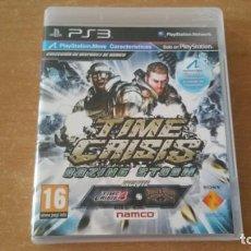 Videojuegos y Consolas: TIME CRISIS RAZING STORM + TIME CRISIS 4 + DEADSTORM PIRATES PS3 PAL ESPAÑA. Lote 222708635