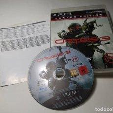 Videojuegos y Consolas: CRYSIS 3 - HUNTER EDITION ( PLAYSTATION 3 - PS3 - PAL - ESP). Lote 224717103