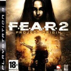 Videojuegos y Consolas: FEAR 2 PROJECT ORIGIN - VIDEOJUEGO DE PLAYSTATION 3 DESCATALOGADO Y PRECINTADO UNICO EN TC. Lote 225175710