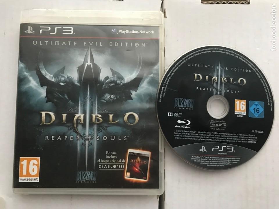 DIABLO 3 REAPER OF SOULS Y DIABLO III ULTIMATE EVIL EDITION PS3 PLAYSTATION 3 PLAY STATION KREATEN (Juguetes - Videojuegos y Consolas - Sony - PS3)