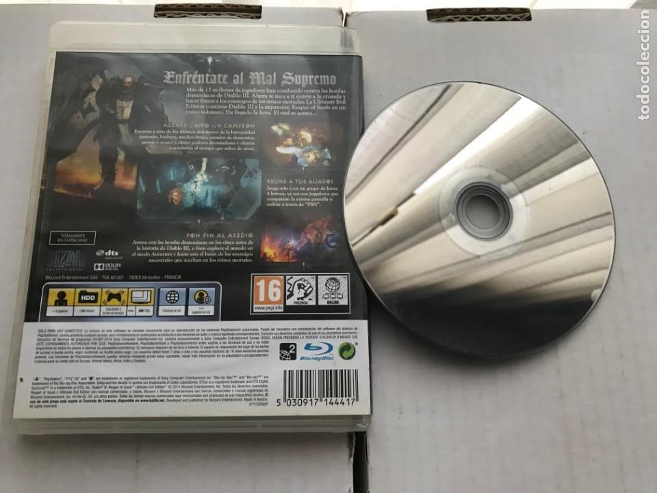 Videojuegos y Consolas: DIABLO 3 REAPER OF SOULS Y DIABLO III ULTIMATE EVIL EDITION PS3 PLAYSTATION 3 PLAY STATION KREATEN - Foto 2 - 226135915