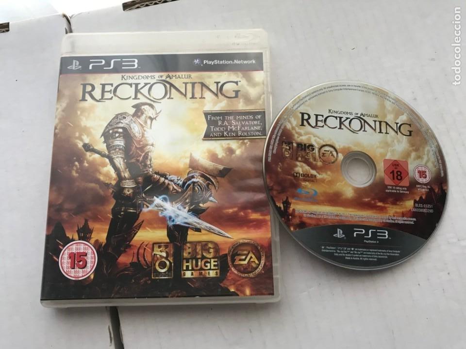 RECKONING KINGDOMS OF AMALUR PS3 PLAYSTATION 3 PLAY STATION KREATEN (Juguetes - Videojuegos y Consolas - Sony - PS3)
