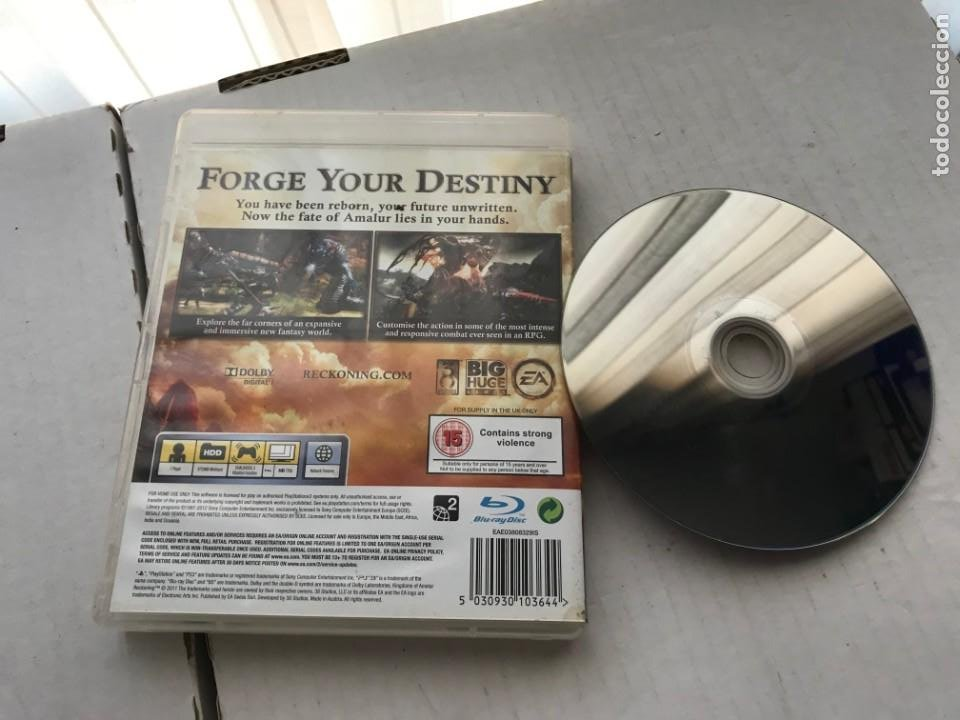 Videojuegos y Consolas: RECKONING KINGDOMS OF AMALUR PS3 PLAYSTATION 3 PLAY STATION KREATEN - Foto 2 - 226136220
