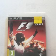 Videojuegos y Consolas: PS3 PLAYSTATION: JUEGO FÓRMULA 1 F1 2011 / COMO NUEVO - EN CAJA Y COMPLETO.. Lote 226749120