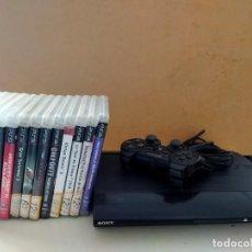 Videojuegos y Consolas: PS 3 MÁS 13 JUEGOS. Lote 227860455