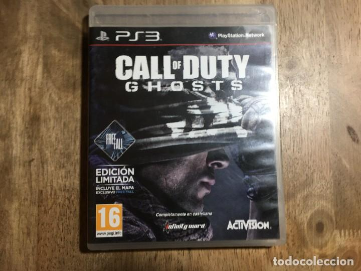 CALL OF DUTY GHOSTS PLAYSTATION 3 PS3 (Juguetes - Videojuegos y Consolas - Sony - PS3)