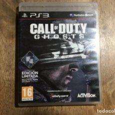 Videojuegos y Consolas: CALL OF DUTY GHOSTS PLAYSTATION 3 PS3. Lote 50063644