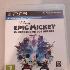Videojuegos y Consolas: EPIC MICKEY EL RETORNO DE DOS HÉROES PS3 JUEGO DE PLAYSTATION 3. Lote 229129865