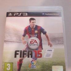 Videojuegos y Consolas: FIFA 15 PS3 PLAYSTATION 3 JUEGO DE VIDEOCONSOLA. Lote 229130051