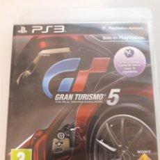 Videojuegos y Consolas: GRAN TURISMO 5 GT PS3 JUEGO DE PLAY STATION. Lote 229130087