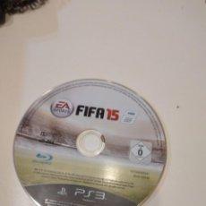 Videojuegos y Consolas: C-3E78AB PUEGO PLAYSTATION 3 SOLO DISCO SIN CARATULA FIFA 15. Lote 231890600
