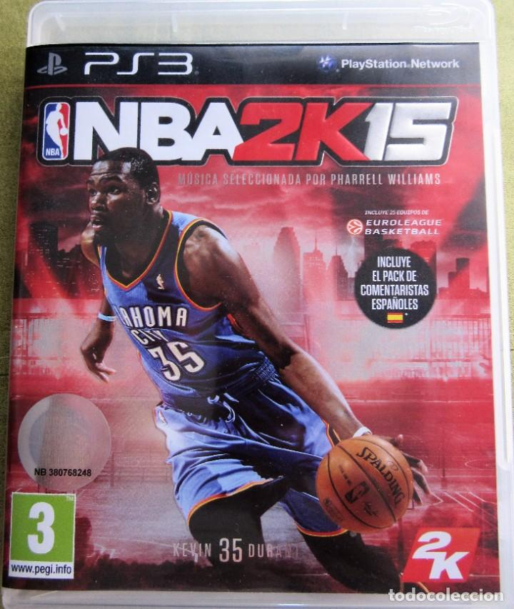 NBA2K15 JUEGO DE BALONCESTO NBA 2K 15 (Juguetes - Videojuegos y Consolas - Sony - PS3)