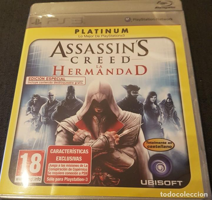 ASSASSIN'S CREED LA HERMANDAD EDICIÓN PLATINUM PARA PS3 PLAYSTATION 3 (Juguetes - Videojuegos y Consolas - Sony - PS3)
