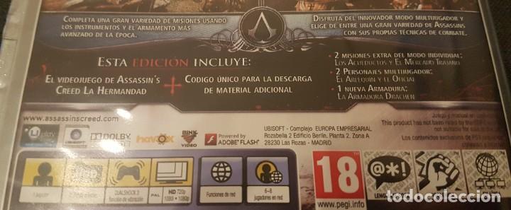 Videojuegos y Consolas: Assassins Creed la hermandad edición platinum para PS3 PlayStation 3 - Foto 3 - 233174315