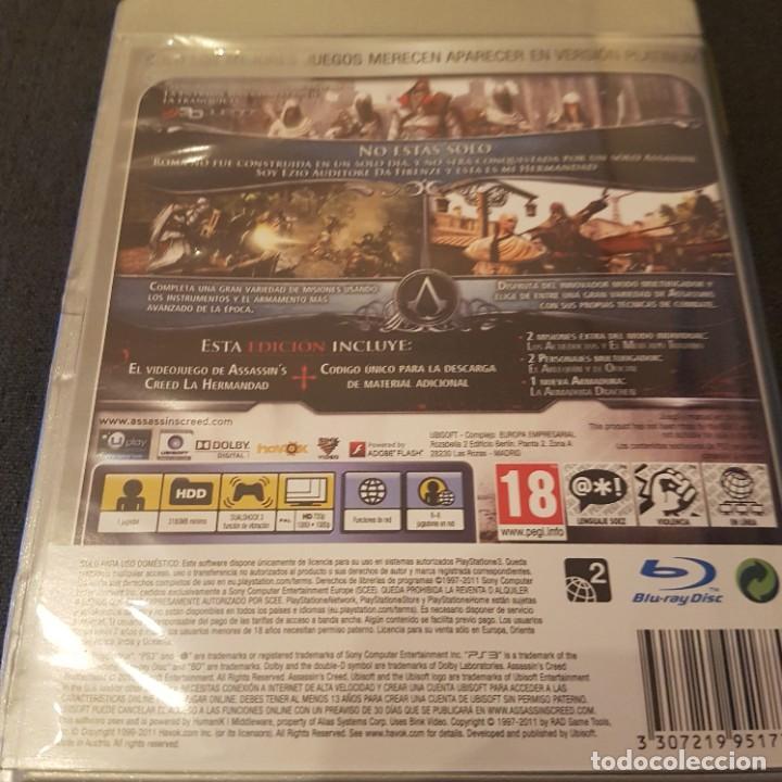 Videojuegos y Consolas: Assassins Creed la hermandad edición platinum para PS3 PlayStation 3 - Foto 4 - 233174315