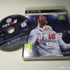 Videojogos e Consolas: FIFA 18 ( PLAYSTATION 3 - PS3 - PAL - ESP). Lote 233437955