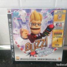 Videojogos e Consolas: BUZZ CONCURSO UNIVERSAL PLAYSTATION 3 EDICIÓN ESPECIAL PS3 PRECINTADO NUEVO. Lote 233450220