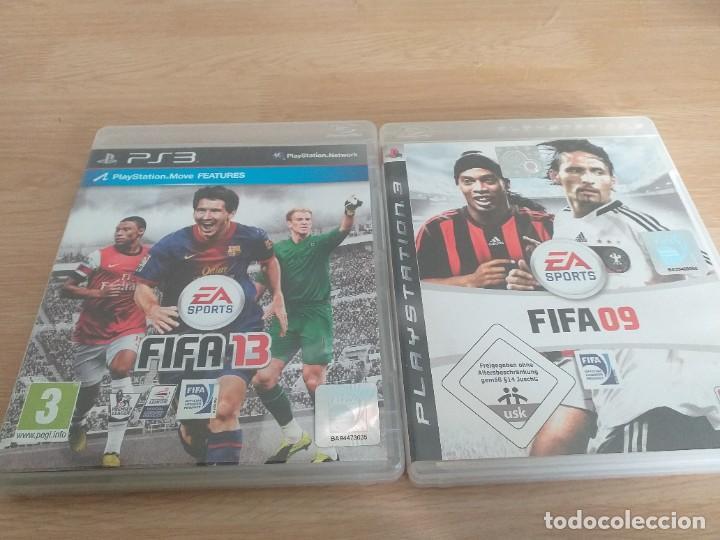 LOTES DE 2 JUEGOS FIFSA09 Y FIFA 13 PAL UK (Juguetes - Videojuegos y Consolas - Sony - PS3)