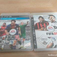 Videojuegos y Consolas: LOTES DE 2 JUEGOS FIFSA09 Y FIFA 13 PAL UK. Lote 234104990