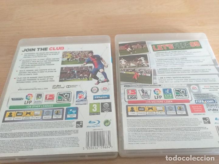 Videojuegos y Consolas: LOTES DE 2 JUEGOS FIFSA09 Y FIFA 13 PAL UK - Foto 2 - 234104990