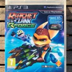 Videojuegos y Consolas: RATCHET & CLANK QFORCE. JUEGO PARA PS3 PLAYSTATION 3. EN ESPAÑOL, VER FOTOS.. Lote 234550775