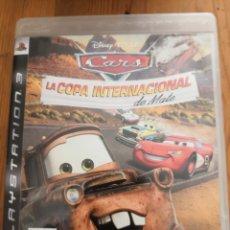 Videojuegos y Consolas: CARS LA COPA INTERNACIONAL DE MATE PS3 PAL ESPAÑA CON CAJA Y MANUAL.. Lote 234835700
