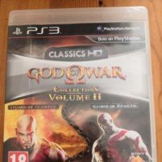 Videojuegos y Consolas: GOD OF WAR COLLECTION VOLUME II PAL SPANISH CON CAJA Y MANUAL. Lote 234837300