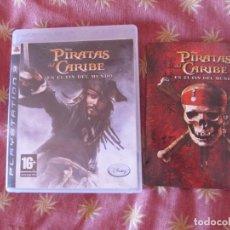 Videojuegos y Consolas: LOS PIRATAS DEL CARIBE EN EL FIN DEL MUNDO - PS3 PAL ESPAÑA COMPLETO. Lote 235293165