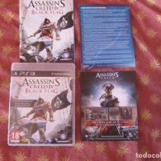 Videojuegos y Consolas: ASSASSIN'S CREED BLACK FLAG ASSASSIN 4 ASSASSINS PS3 PLAY STATION 3 PLAYSTATION 3. Lote 235300505