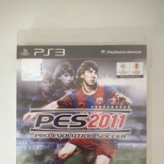 Videojuegos y Consolas: PRO EVOLUTION SOCCER PES 2011 PS3. Lote 235648405