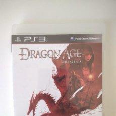 Videojuegos y Consolas: DRAGON AGE ORIGINS PS3. Lote 236018215