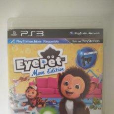 Videojuegos y Consolas: EYE PET MOVE EDITION PS3. Lote 236206550