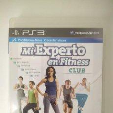 Videojuegos y Consolas: MI EXPERTO EN FITNESS CLUB PS3. Lote 236206945