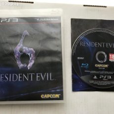 Videojuegos y Consolas: RESIDENT EVIL 6 RE VI PS3 PLAYSTATION 3 PLAY STATION KREATEN. Lote 236443085
