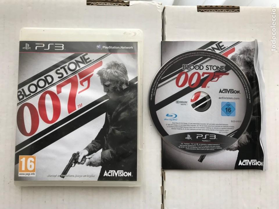 007 BLOOD STONE JAMES BOND PS3 PLAYSTATION 3 PLAY STATION KREATEN (Juguetes - Videojuegos y Consolas - Sony - PS3)