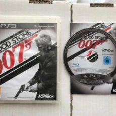 Videojuegos y Consolas: 007 BLOOD STONE JAMES BOND PS3 PLAYSTATION 3 PLAY STATION KREATEN. Lote 236769290