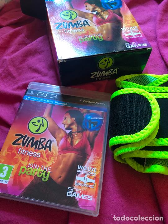 JUEGO ZUMBA FITNESS JOIN THE PARTY PS3 PLAY STATION 3 PLAYSTATION 1 2 4 WII VIDEOJUEGO CINTURON (Juguetes - Videojuegos y Consolas - Sony - PS3)