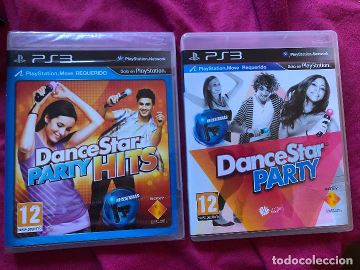 LOTE 2 JUEGOS DANCE STAR PARTY HITS PS3 DANCESTAR SINGSTAR BAILAR PLAY STATION PLAYSTATION 1 2 4 5 (Juguetes - Videojuegos y Consolas - Sony - PS3)