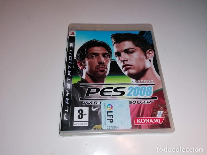 SONY PLAYSTATION 3 PS3 PES PRO EVOLUTION SOCCER 2008 (Juguetes - Videojuegos y Consolas - Sony - PS3)