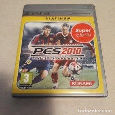Videojuegos y Consolas: PS3 PES 2010 ¡USADO!. Lote 237570305