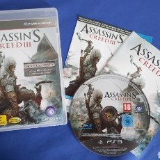 Videojuegos y Consolas: ASSASSIN'S CREED III PS3 CASTELLANO. Lote 237671375