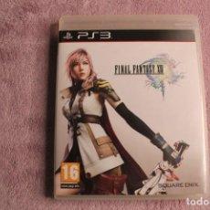 Videojuegos y Consolas: FINAL FANTASY XIII PS3. Lote 238154750