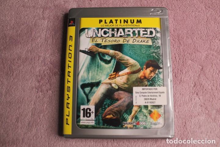 UNCHARTED EL TESORO DE DRAKE PLATINIUM PS3 (Juguetes - Videojuegos y Consolas - Sony - PS3)