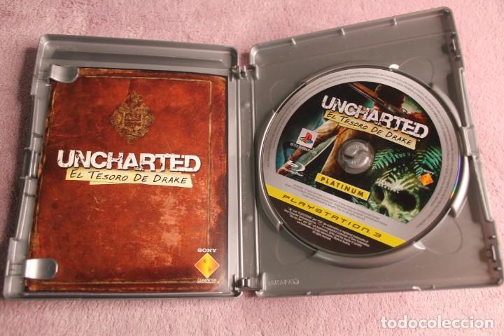 Videojuegos y Consolas: UNCHARTED EL TESORO DE DRAKE PLATINIUM PS3 - Foto 2 - 238156220