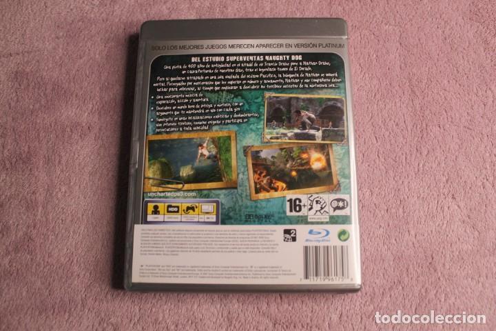 Videojuegos y Consolas: UNCHARTED EL TESORO DE DRAKE PLATINIUM PS3 - Foto 3 - 238156220