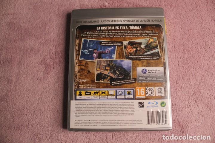 Videojuegos y Consolas: UNCHARTED 2 EL REINO DE LOS LADRONES PLATINIUM PS3 PRECINTADO - Foto 2 - 238156400