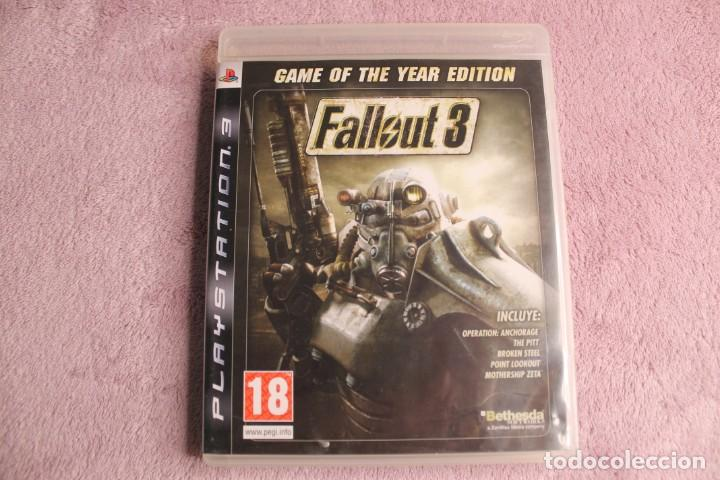 FALLOUT 3 GAME OF THE YEAR EDITION PS3 (Juguetes - Videojuegos y Consolas - Sony - PS3)