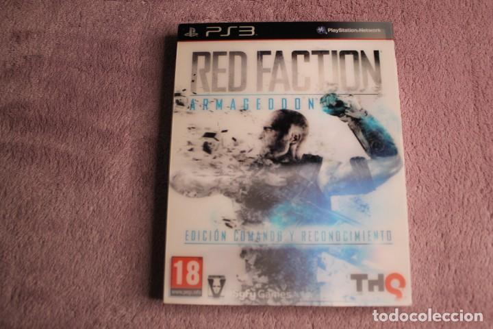 RED FACTION ARMAGEDON EDICIÓN COMANDO Y RECONOCIMIENTO PS3 (Juguetes - Videojuegos y Consolas - Sony - PS3)
