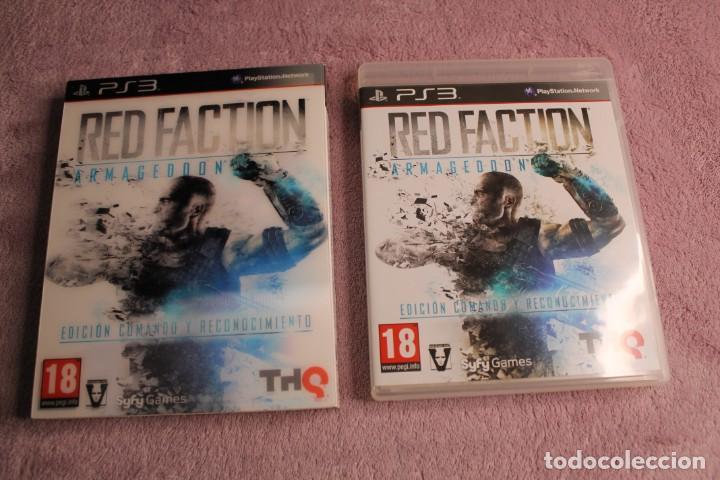 Videojuegos y Consolas: RED FACTION ARMAGEDON EDICIÓN COMANDO Y RECONOCIMIENTO PS3 - Foto 2 - 238157305