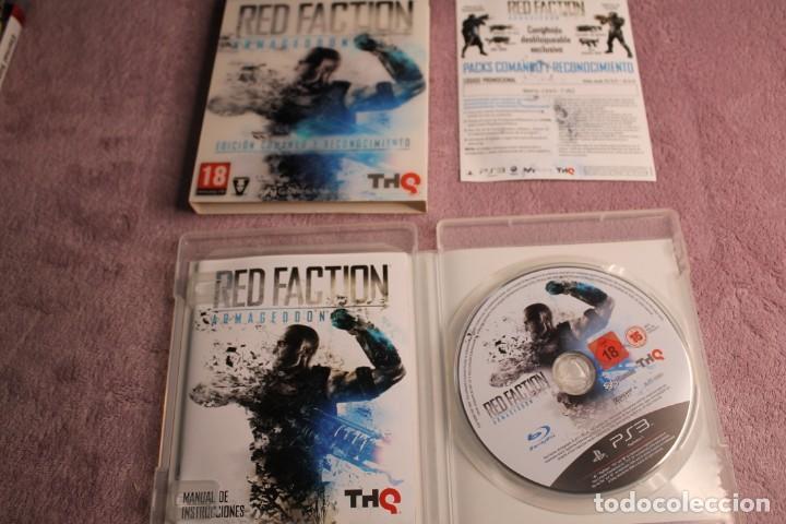 Videojuegos y Consolas: RED FACTION ARMAGEDON EDICIÓN COMANDO Y RECONOCIMIENTO PS3 - Foto 3 - 238157305